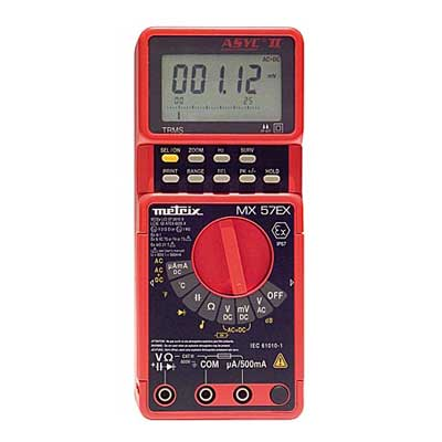 Multimètre portable ATEX 50 000 pts : MX 57Ex