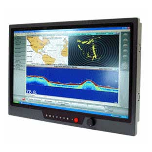 "24"" IP65 Sunlight Readable Marine Display : NAVPIXEL NPD2425"