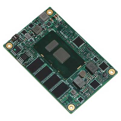 Carte COM-EXPRESS mini type 10 avec CPU Intel Skylake ULT core i3/i5/i7: NanoCOM-SKU -> AAEON