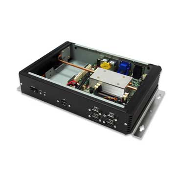 Intel Atom Cedar Trial D2550 Fanless Rugged System, Wide Temp. -20 to 60�C : PER321A