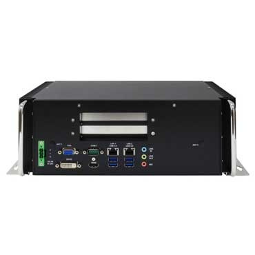 Intel QM77 Fanless Rugged System, Wide Temp. -20 to 60°C : PER535A -> PERFECTRON