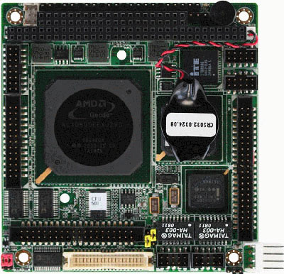 PC/104 Module with Onboard AMD Geode LX800 Processor : PFM-541I -> AAEON