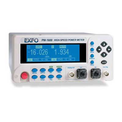 Wattmètre de table rapide : PM-1600 -> EXFO