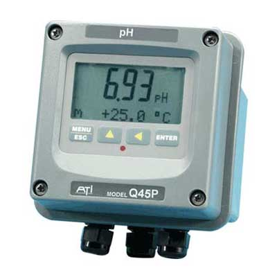 Analyseur pH-ORP Redox Q45P/ORP avec version autonettoyante