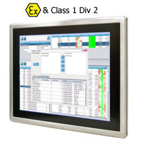 "Panel PC ATEX 15"" Intel Atom Dual Core N2600 1.6GHz : R15ID3S-65FTE -> WINMATE"
