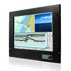 "17"" Intel Dual Core Atom N2600 Platform Marine Panel PC : R17ID3S-MRM1"