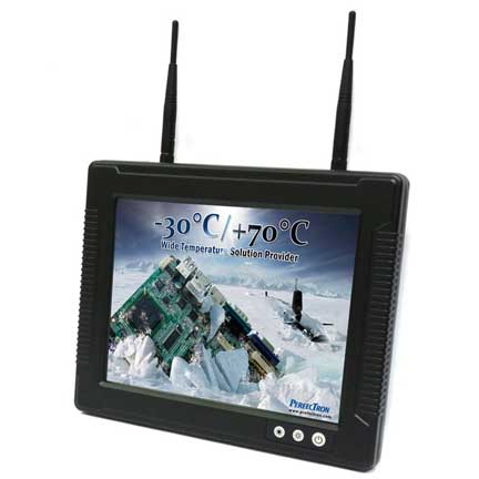 "Vehicle Mount Terminal with 12.1"" TFT LCD IP65, Wide Temp. -30 to 70°C : RVT1216A"