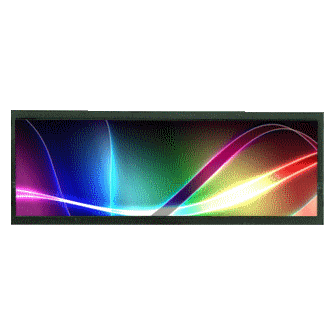 "8""Resizing LCD,200 nits LED backlight, 1024x324 ultra ratio 16:5 : SSF0822 -> LITEMAX"