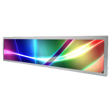 28�Resizing LCD, Brightness is 1000 nits, LED backlight, 1366x254 ultra wide aspect ratio 16:3 : SSF2825 V2 -> LITEMAX