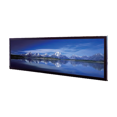 6,2'' moniteur LCD panoramique/stretch 1000 cd/m² 1024x250 : SSH0635-E -> LITEMAX