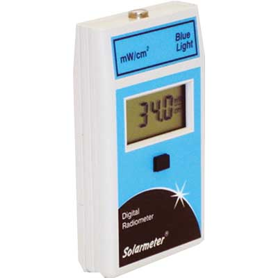 Radiom�tre Lumi�re bleue int�gr� : Solarmeter Model 9.4