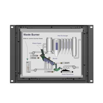 "9.7"" Industrial Monitor, open frame for optional : TK970-NP/C/T"