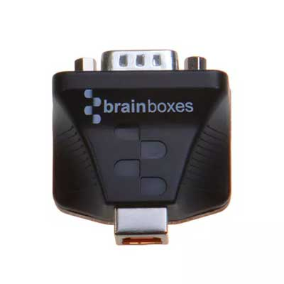 Convertisseur USB RS232 à haute isolation de protection : US-159 -> BRAINBOXES