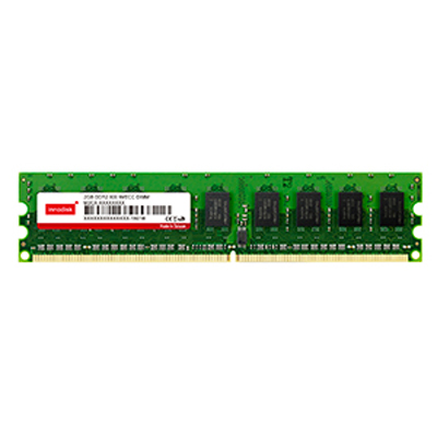 Unbuffered w/ECC 800Mhz/667Mhz/533Mhz/400Mhz 240pin : DDR2 LONG DIMM -> INNODISK