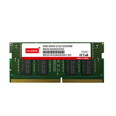 Unbuffered w/ECC 2133 MHz 260pin : DDR4 SODIMM -> INNODISK