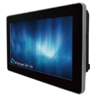 "Panel PC Multitouch 10.1"" Intel Atom N2600 Dual Core Processor : W10ID3S-PCH1-PoE"