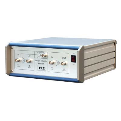Amplificateur de tension, 2 voies, 20x, ±200V, Inverseur de phase(800Vpp) : A400DI