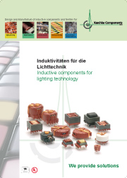 Inductive components for lighting technology -> KASCHKE