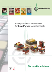 Safety insulation transformers for SmartPower -> KASCHKE