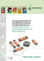 Transpondercoils for Identification Systems -> KASCHKE