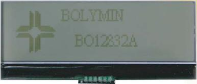 128x32 points : module 82x34 mm / Série BO12832A -> BOLYMIN
