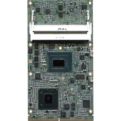 EDM Type 2 Extended Module with Intel QM77 Chipset : EDM2-XI-QM77 -> TECHNEXION