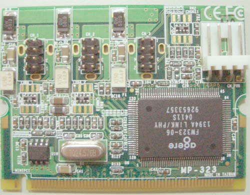 Module Mini PCI IEEE1394A : MP-323 -> COMMELL