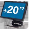 Ecran Tactile + de 20