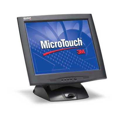 "M1700SS LCD : Ecran LCD 17"" tactile capacitif -> 3M TOUCH SYSTEMS"