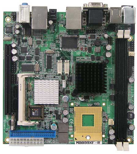 Socket 478 Intel Core 2 Duo Mini-ITX Motherboard : MB899X -> IBASE