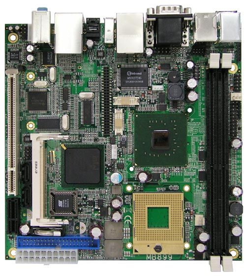 Socket 478 Intel Core 2 Duo Mini-ITX Motherboard : MB899 -> IBASE