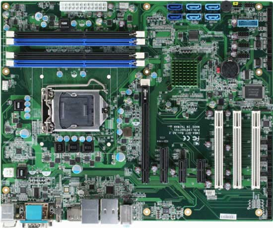 Industrial Motherboard With Intel 3rd Generation Core i7/ i5/ i3 Processor : IMBA-QM77