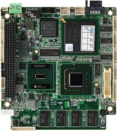 PC/104 CPU Module With Onboard Intel Atom N270 Processor : PFM-945C