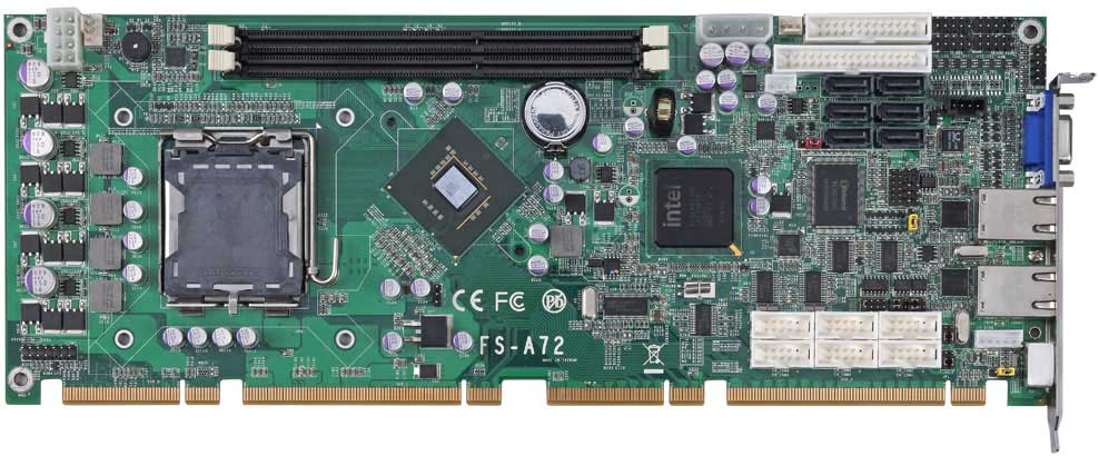 PICMG 1.3 Intel Core 2 Duo Desktop CPU Card : FS-A72 -> COMMELL