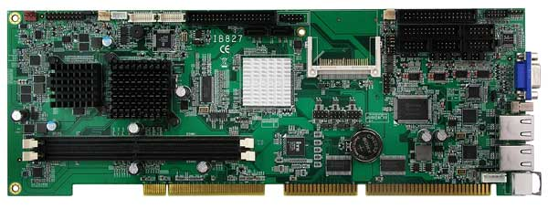 Intel Atom N270 Full Size CPU Card Intel 945GSE Chipset : IB827 -> IBASE