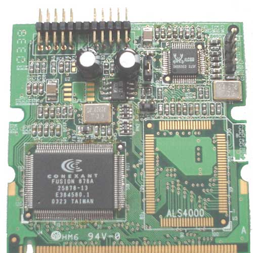 Module Mini PCI Vidéo & Audio : MP-878AS