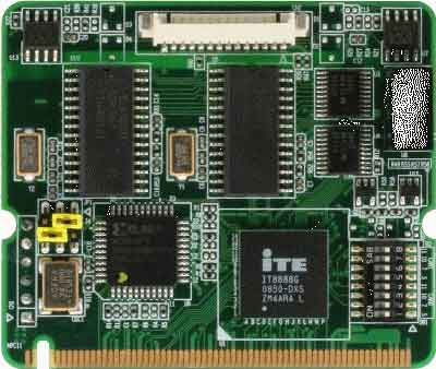 Mini PCI Dual CAN Module : PER-C20N -> AAEON