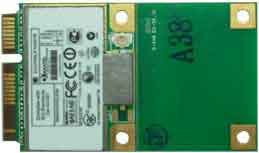 PCI-Express Mini Card 802.11 n/b/g Wireless card : MPX-5201