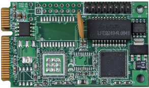 PCI Express mini card support 1 x Giga LAN : MPX-574D -> COMMELL
