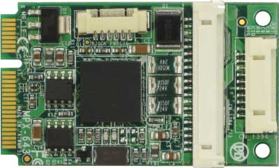 PCI Express mini card supports IEEE1394A et 1394B : MPX-643