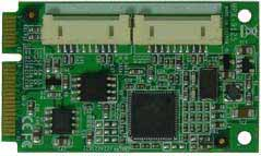 PCI Express Mini Card supports 2 x SATAIII (RAID 0, RAID 1) : MPX-9125 -> COMMELL