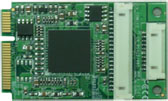 PCI Express mini card support 2 x RS422/485 & 2 x RS-232 : MPX-954E -> COMMELL