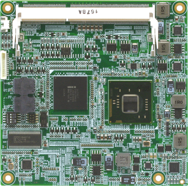 COM Express Type 2 CPU Module with Onboard Intel Atom D2700/N2600 Processor : COM-CV Rev A
