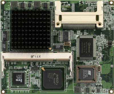 AMD Geode LX Series Processors : ETX-700 Rev.B -> AAEON