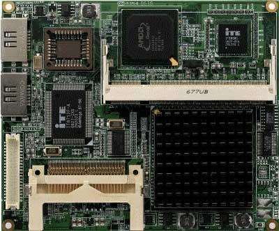 AMD Geode LX Series Processors : ETX-700 -> AAEON
