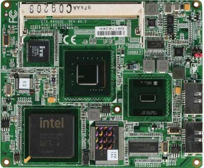 ETX CPU Module with Onboard Intel Atom N270 Processor : ETX-945GSE-A10-01 -> AAEON