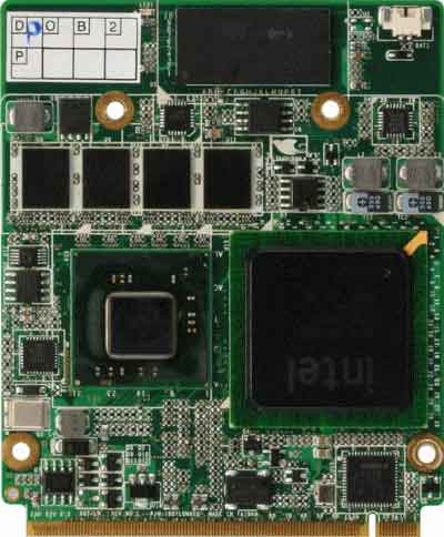 Qseven CPU Module with Onboard Intel  Atom N450 Processor : AQ7-LN -> AAEON