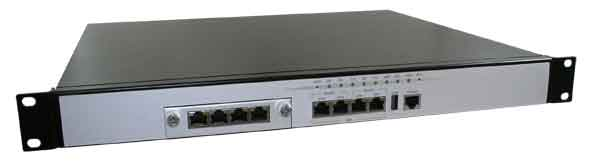 Mid Level Intel EP80579 Based Network Appliance w/ 8 GbE Ports : FWA7108 -> IBASE