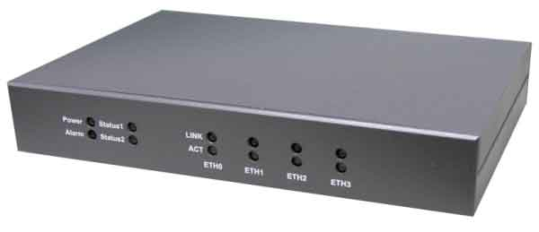 Entry Level VIA C7 Based Fanless Network Appliance w/ 4 GbE Ports : FWA7304G -> IBASE