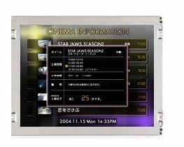 "Dalle LCD TFT 6.5"", VGA, 640 x 480 pixels : AA065VE01 -> MITSUBISHI ELECTRIC"